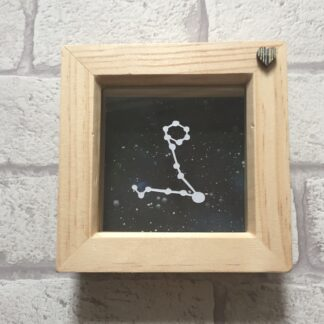 pisces constellation paper cut by kppapercuts