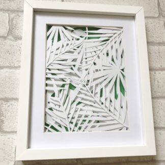 Jungle paper cut art by kppapercuts