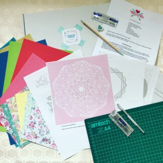 paper cutting starter kit by kppapercuts