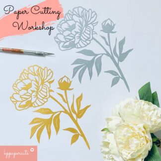 Paper cutting workshop in Teesside