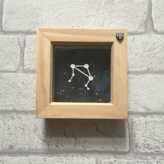 libra constellation paper cut by kppapercuts