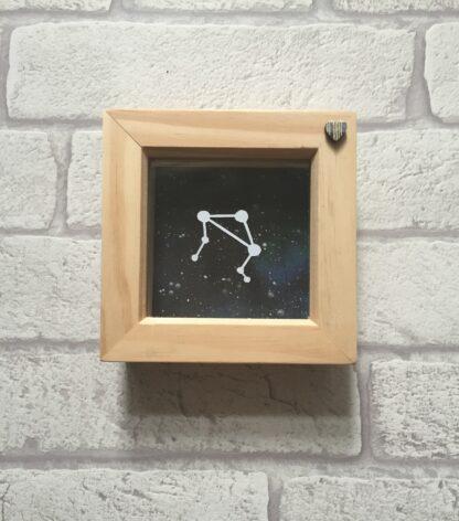 libra constellation paper cut by kppapercuts