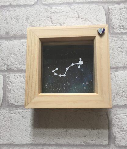 scorpio constellation paper cut by kppapercuts