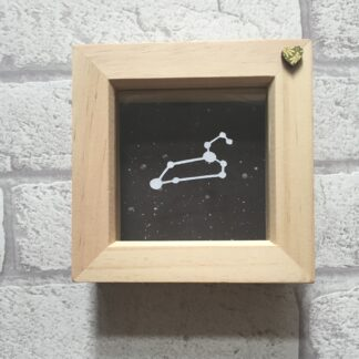 leo constellation paper cut art by kppapercuts