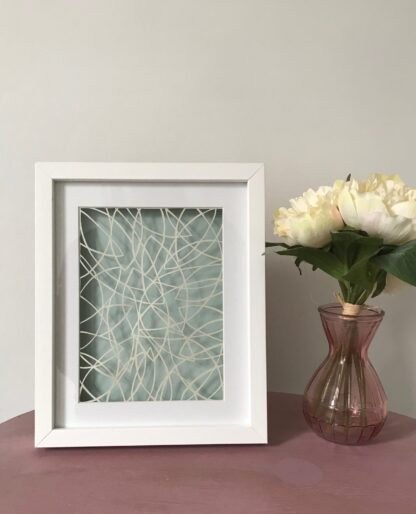 abstract paper cut by kppapercuts