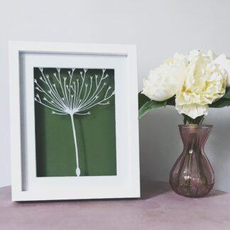 dandelion tuft by kppapercuts