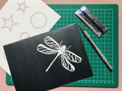 Dragonfly paper Cutting project Kit
