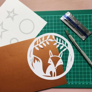 Fox Paper Cutting Kit