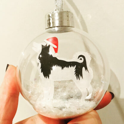 Husky Dog Bauble